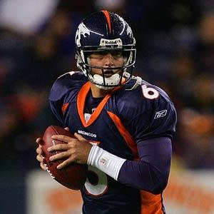 Jay Cutler Drops Back For A Pass - pnfl.com