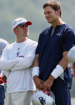 Josh McDaniels With Tom Brady