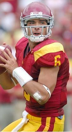 Mark Sanchez Stares Down The Field